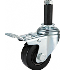 ESD and Conductive Rubber Casters Brake Expanding